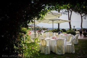 i giardini della piscina di Villa Majestic