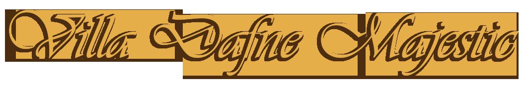 logo villa Dafne Majestic