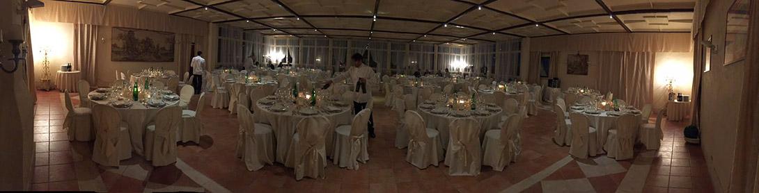 panoramica sala interna Villa Majestic
