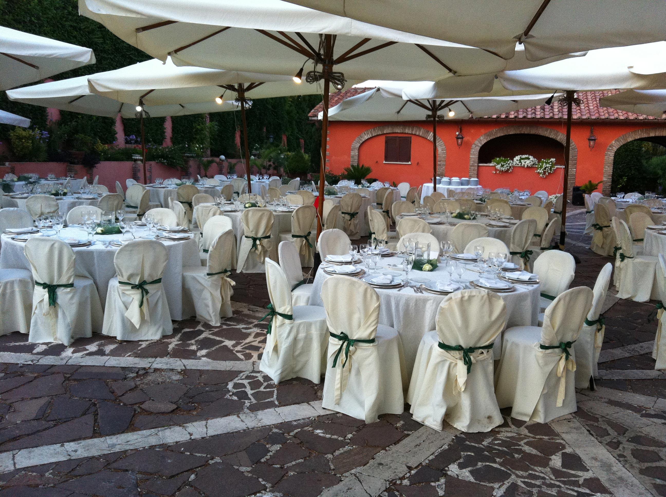 patio di Villa Majestic