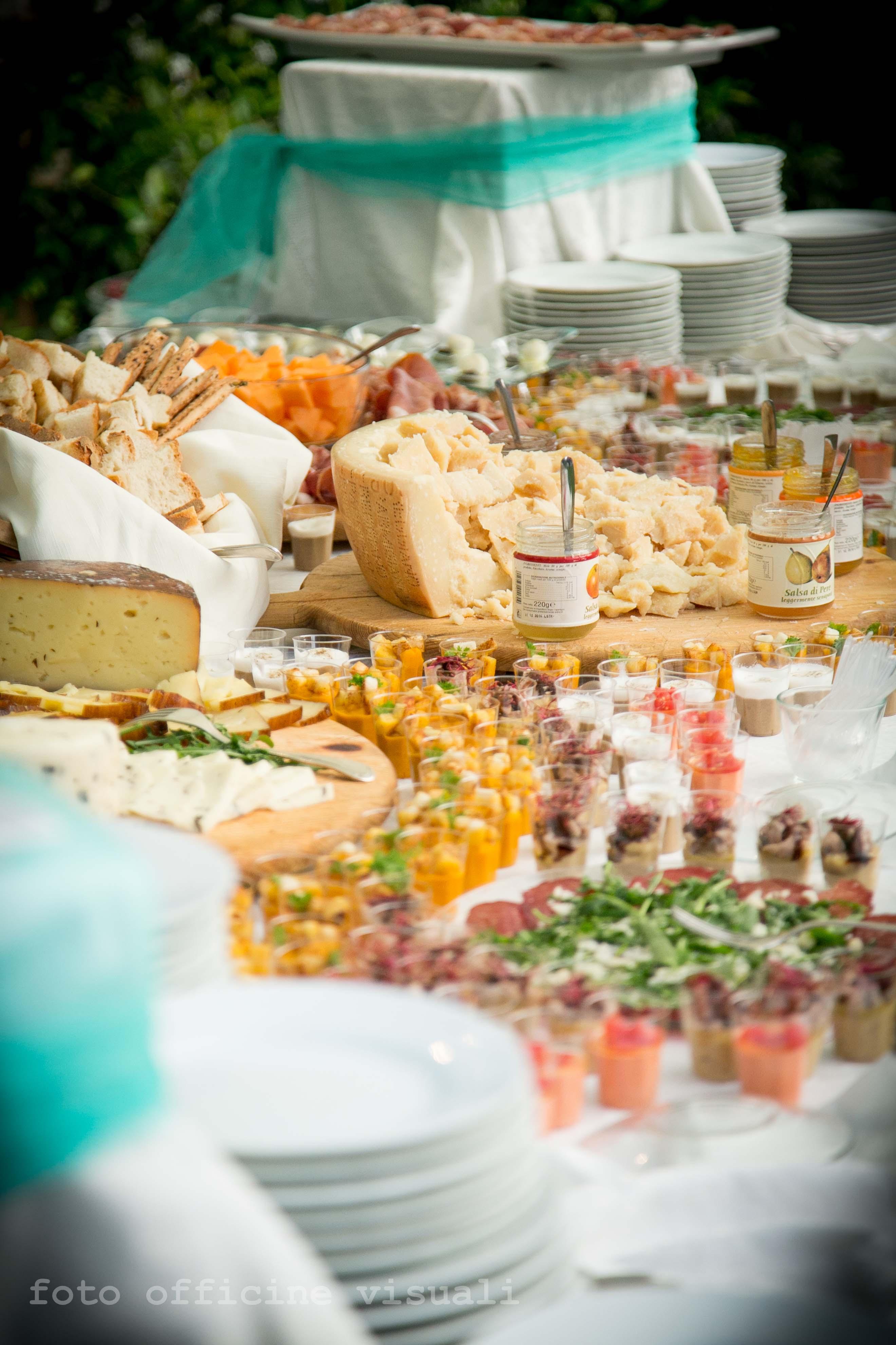 buffet a Villa Majestic