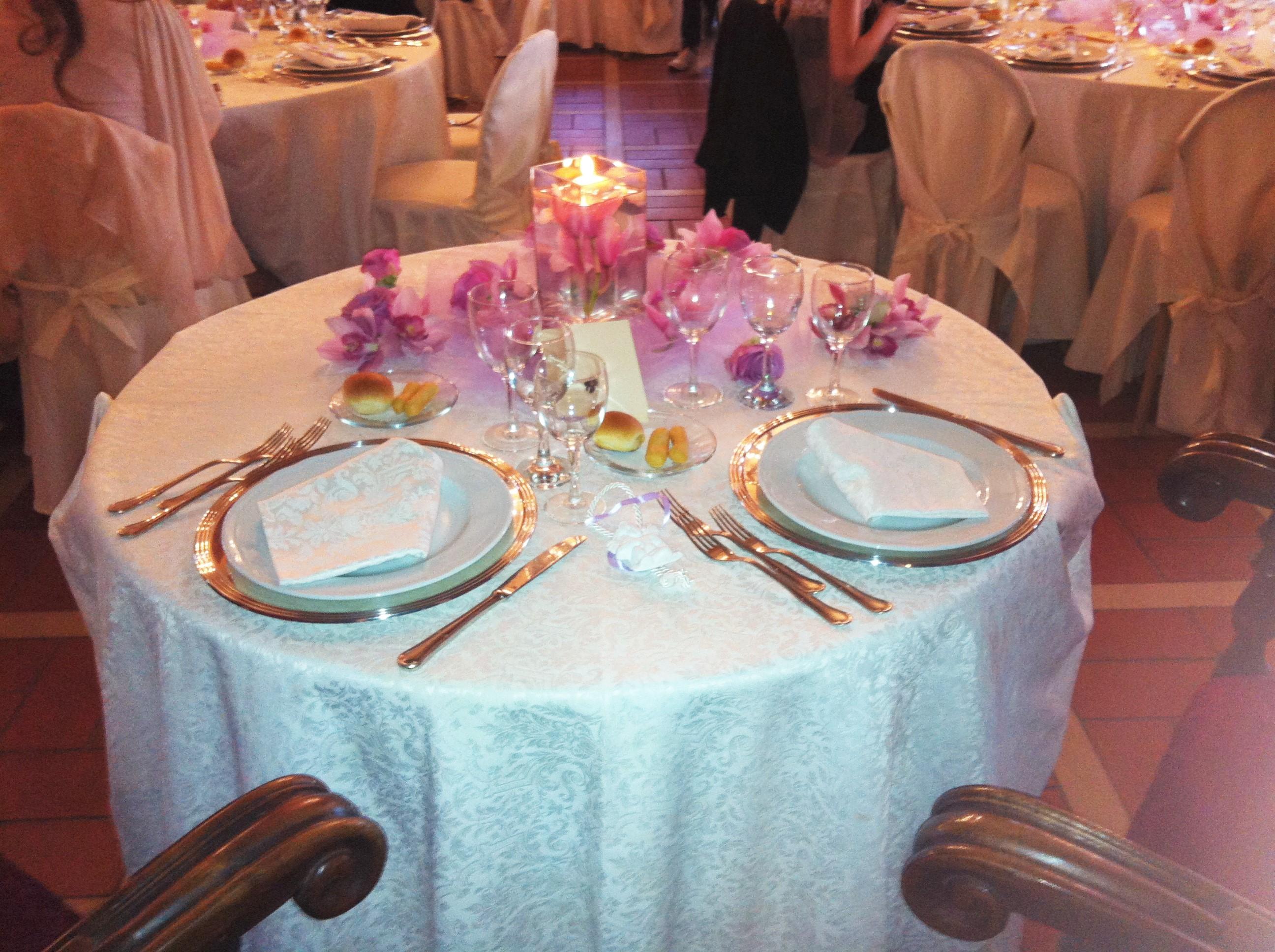 Tavolo degli Sposi di VIlla Majestic