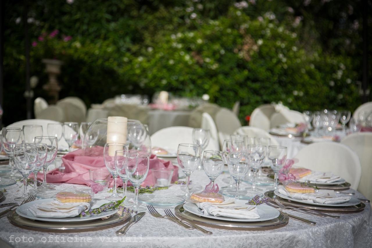 Matrimonio Rosa Antico Villa Majestic