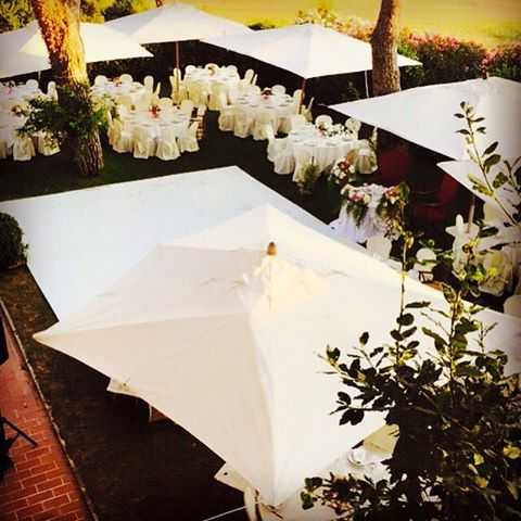 Matrimonio total white Villa Majestic