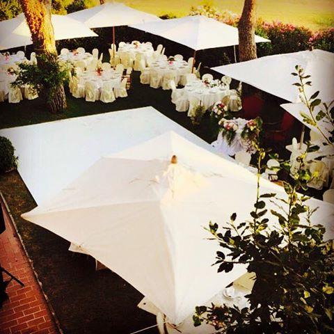 Matrimonio total white Villa Majestic